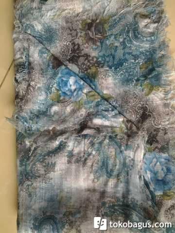 Intip Galeriku Jilbab Segi 4 Bolak Balik Motif
