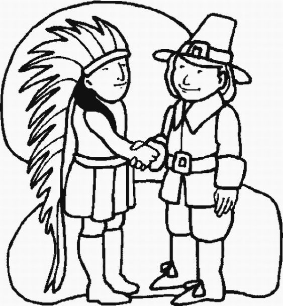 Posted in Indian Coloring Pages title=