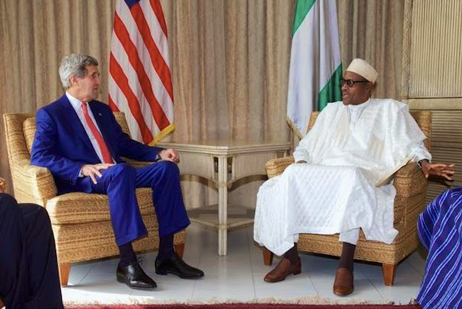 John Kerry and Buhari