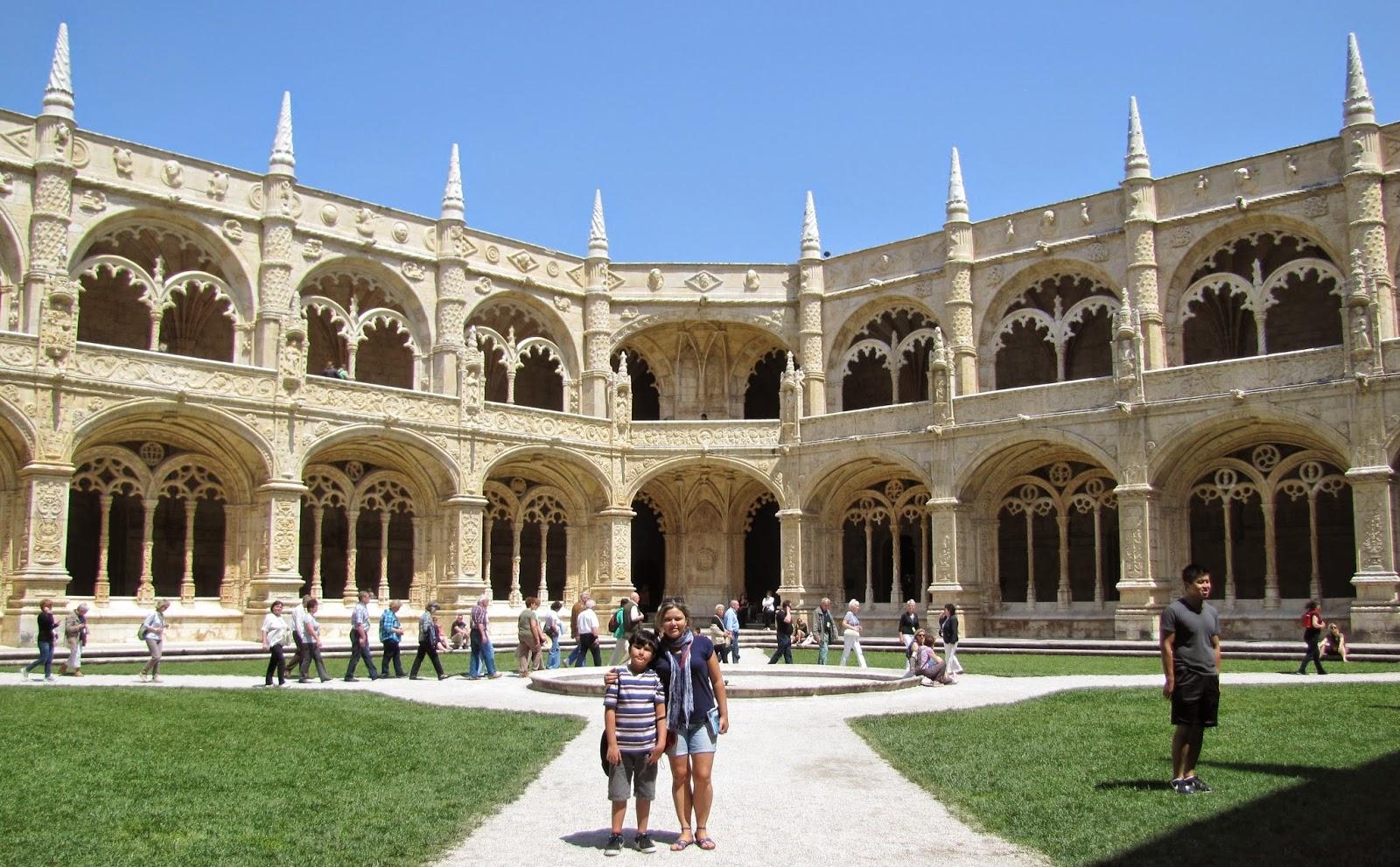 Famosos família na trip: Mosteiro dos Jerônimos - Lisboa RI38