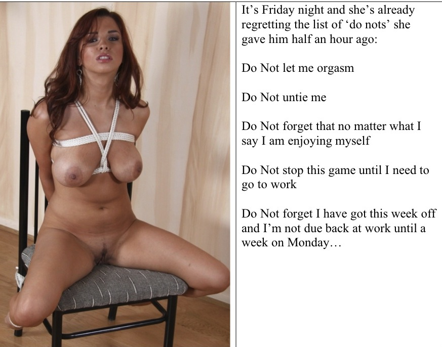 Cum horny female domination captions tumblr