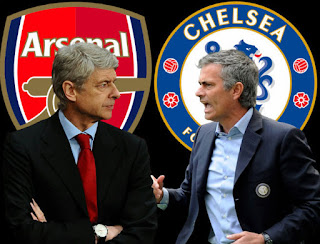 Wenger wallpapers Mourinho fight 2015