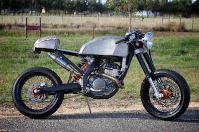 Yamaha Xscafe Racer Umbau
