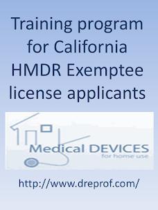 HMDR Exemptee Certification Class