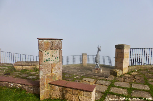 Balcón de la Cardosa, o mirador del rebeco, Pto. Palombera