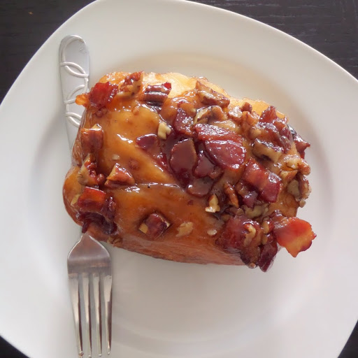 Bacon Pecan Maple Sticky Buns