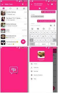 BBM Mod Pinko Theme 2.9..0.45 Apk