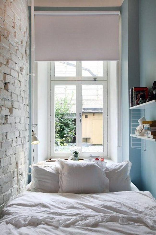ideal una ventana como cabecero no se cmo ser de cara al feng shui pero el efecto es realmente bonito