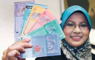 Wang Kertas Malaysia Siri Baru Dalam Edaran Mulai 16 Julai