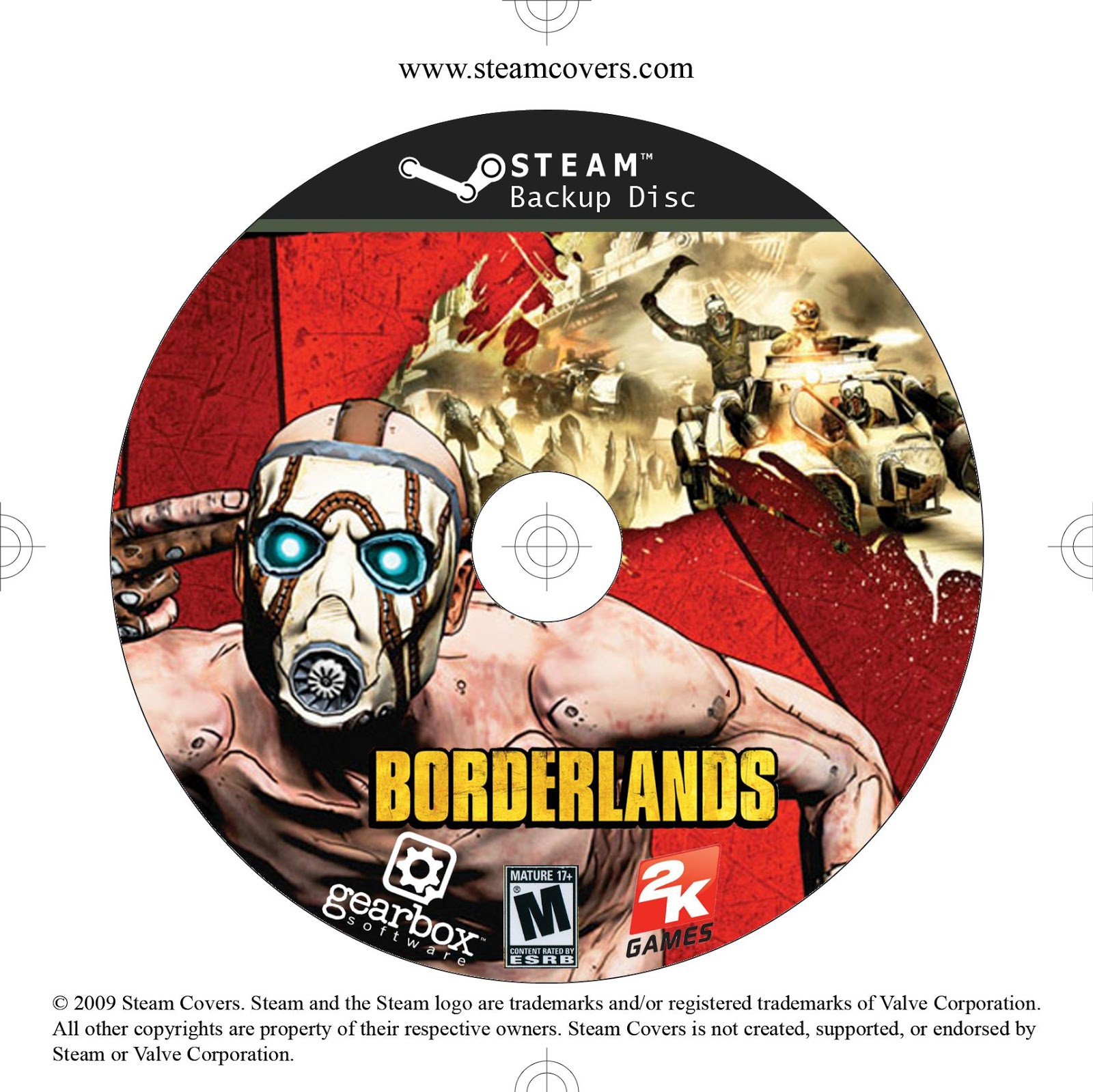 Label Borderlands PC