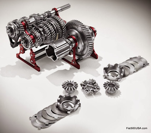Abarth 695 biposto transmission