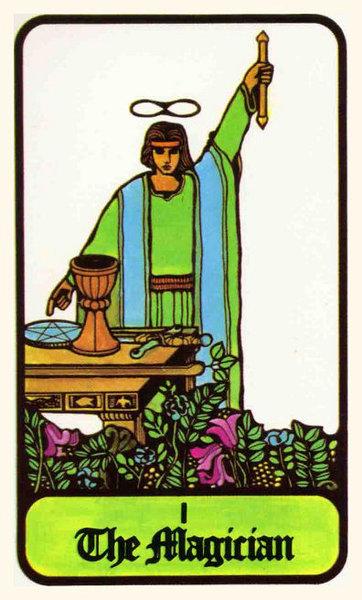 Si on revient aux images d origines du Tarot, on doit admettre que l on  s est beaucoup éloigné du sens premier, et la personnalité du pauvre  BATELEUR est ... 1a4f7ce75b47