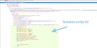Cara Menemukan Kode Unik Blog dan kode site blog