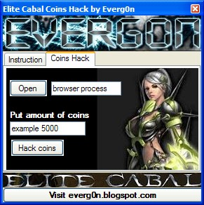 Elite Cabal Coins Hack by Everg0n for Free ~ Professional Blog