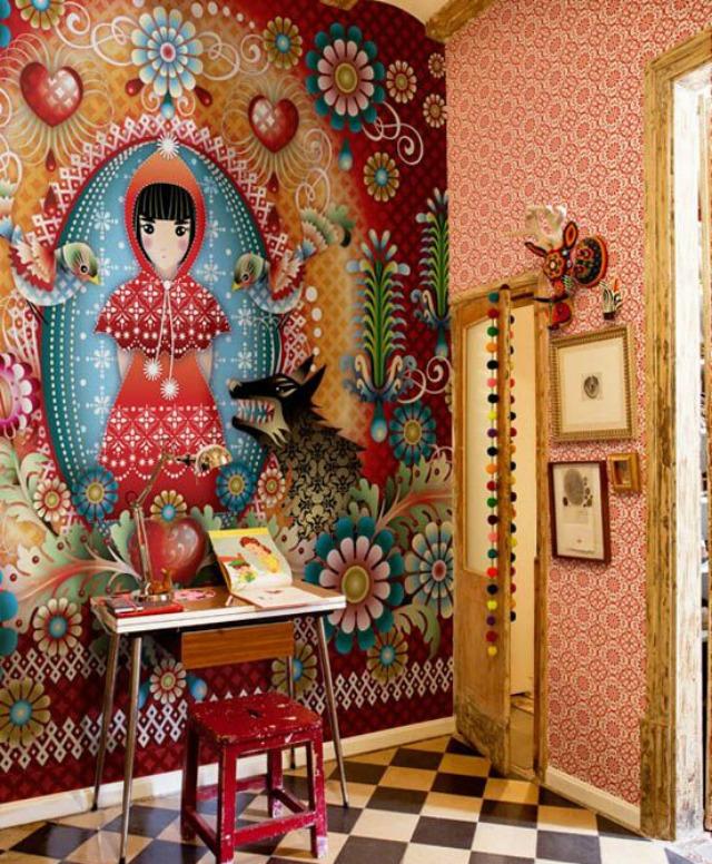 catalina estrada wallpaper papel pintado photobooth ideas decoration boda wedding