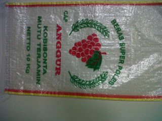 karung plastik cap anggur ( merk karug plastik sumo )