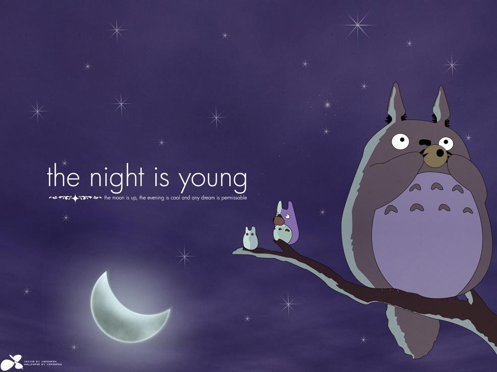 14 Cute Totoro Wallpapers! - Selina Wing