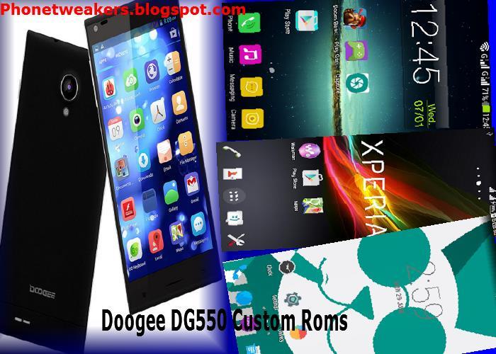 Прошивка для Doogee Dg550