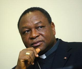 Nigerian Cardinal designate John Onaiyekan