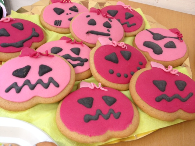 Galletas Halloween calabaza