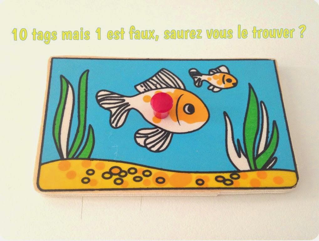 poisson d'avril 10 tags sur ma vie 1 est faux, à vous de trouver lequel