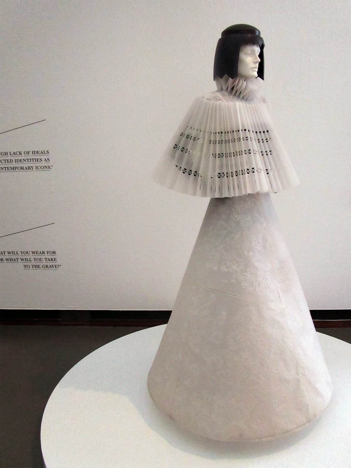 paper dress by Jum Nakao