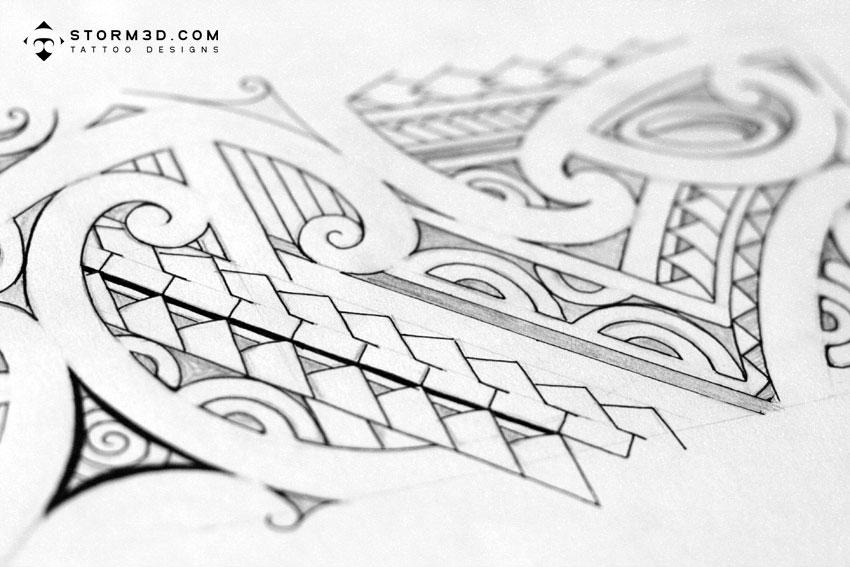 tribal armband tattoo polynesian (Fabregas Maori Simplicity: armband / Polynesian tattoo Tattoo