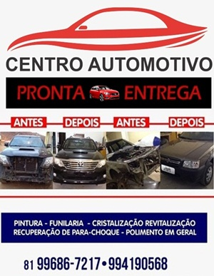 CENTRO AUTOMOTIVO - PRONTO ENTREGA