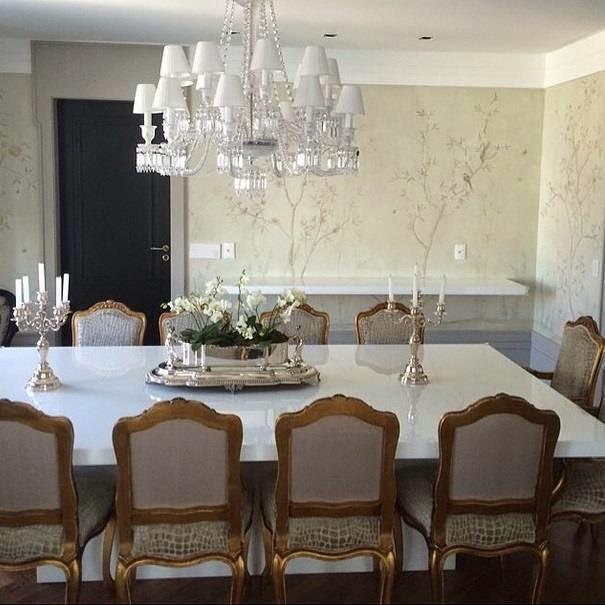Blog Decoração de Interiores Mesas Classicas de Jantar