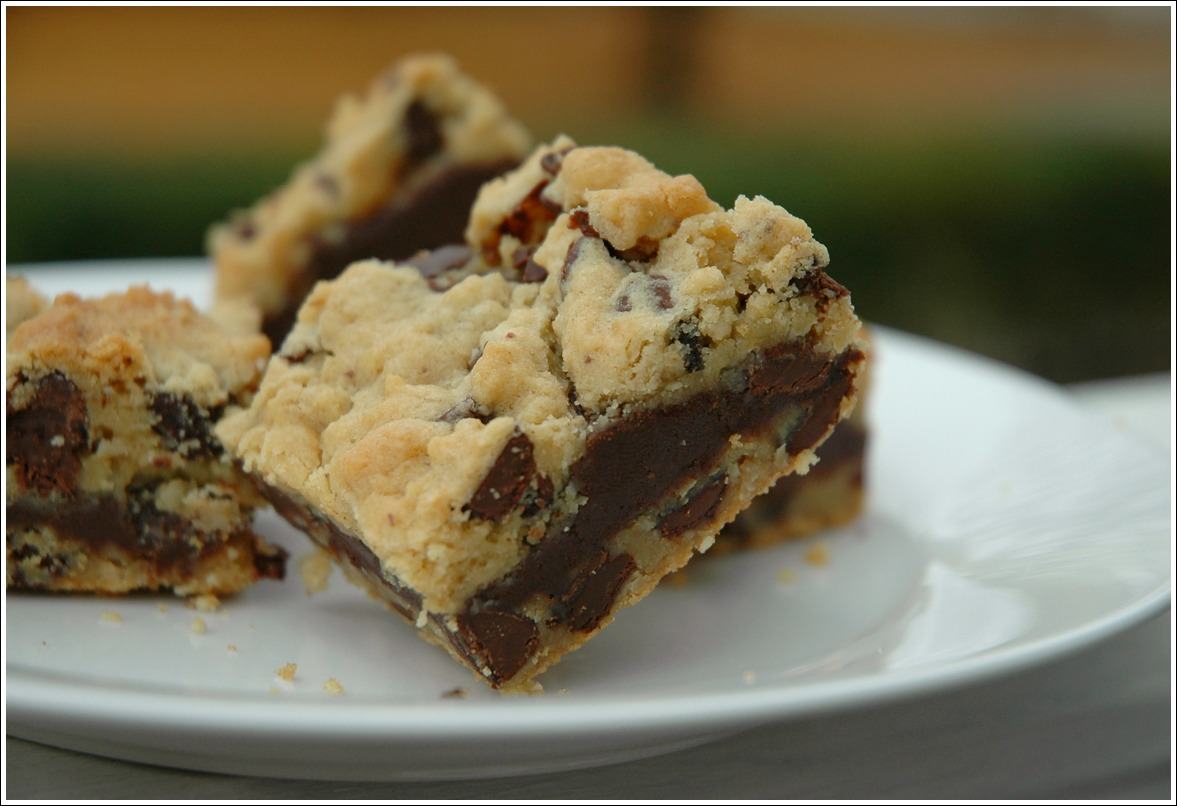 Gooey Chocolate Chip Sandwich Bars Recipes — Dishmaps