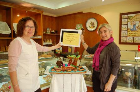 El Ganador del Concurso de Monas ha sido el Horno El Campillo y el finalista Pastelería Daniel