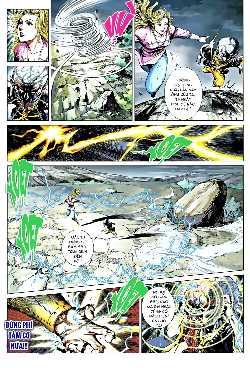 Túy Quyền Chap 9 - Trang 22