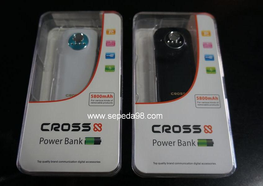 Cross Power Bank 5800mAh & 8800mAh