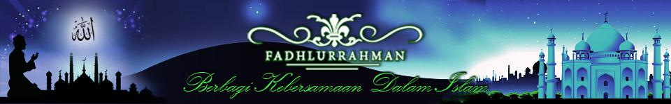 Fadhlurrahman