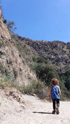 Hiking Eaton Canyon Falls with a toddler