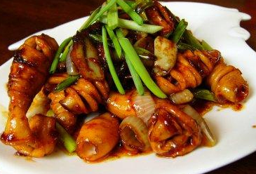 Resep Seafood Cumi Pedas Manis Nikmat