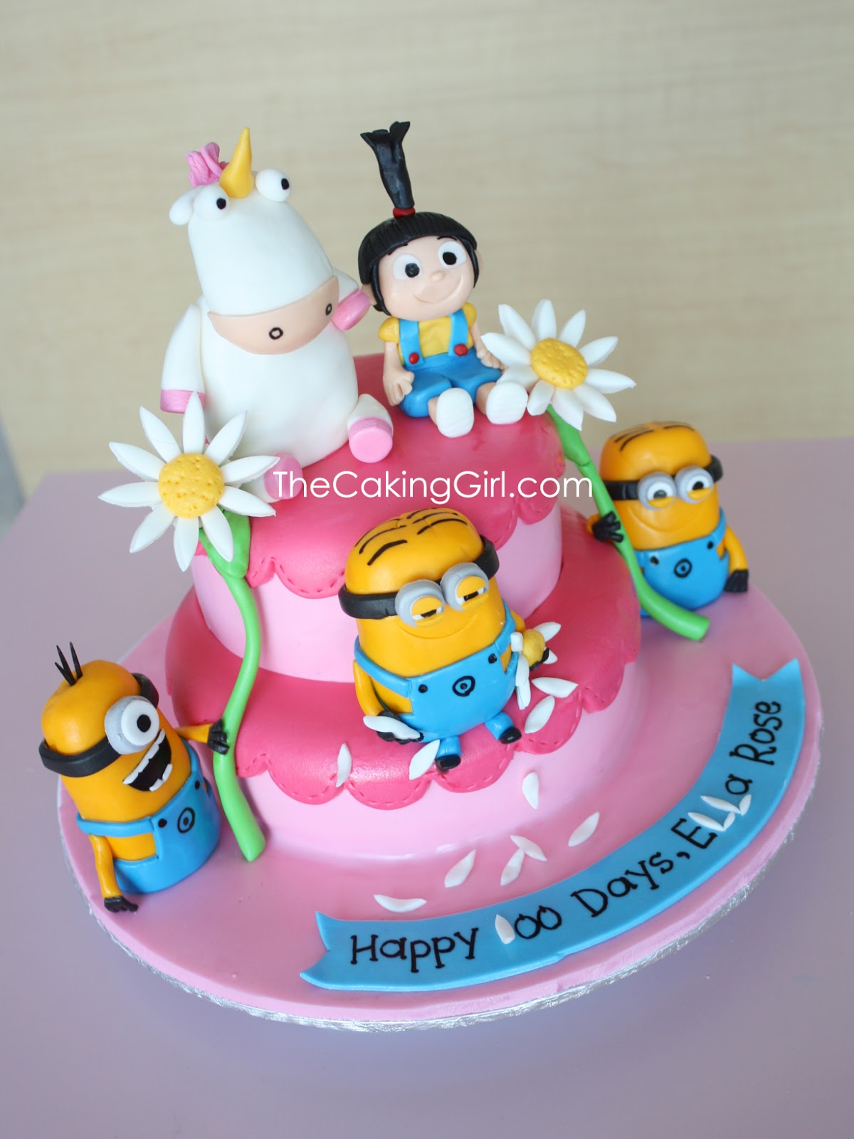 Thecakinggirl Cute Despicable Me Cake
