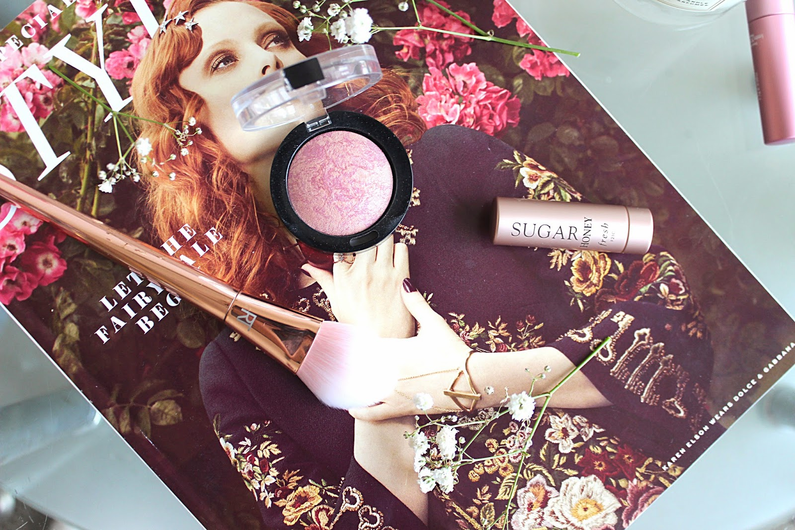 Hourglass Ambient Blush Dupe