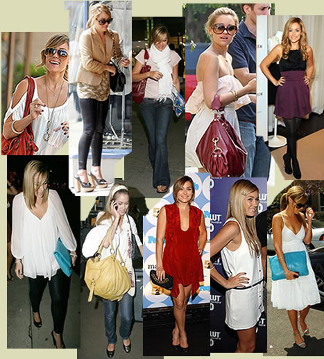 I have two fashion style icons which are Jessica Alba and Lauren Conrad.