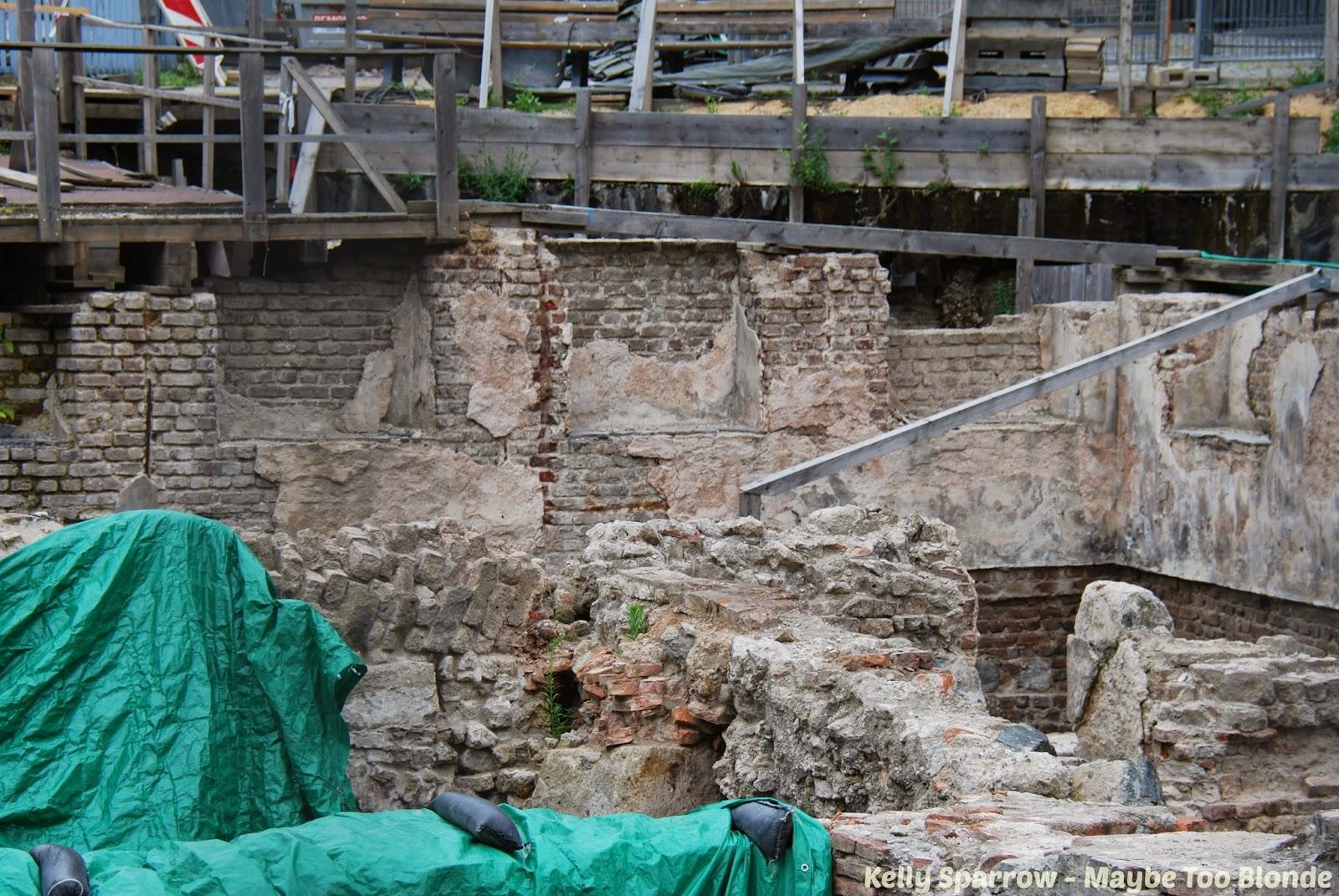 Cologne Roman ruins