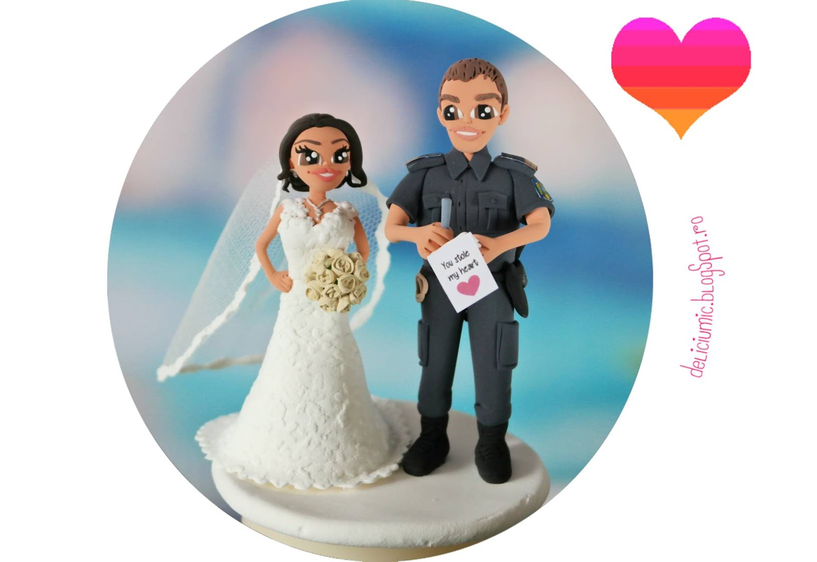Figurine tort jandarm