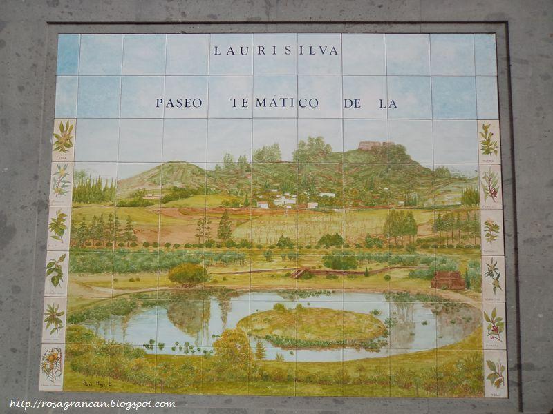 Rosa en gran canaria valleseco murales de azulejos en lanzarote - Murales de azulejos ...
