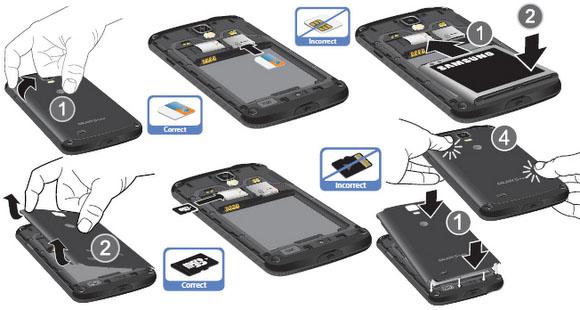 Samsung Galaxy S4 Remove Sim Card