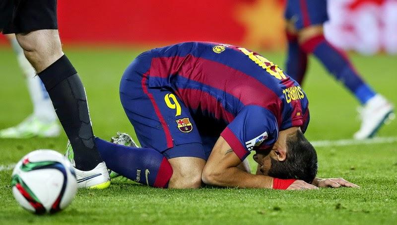 Barcelona Dipermalukan Malaga di Camp Nou