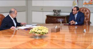 السيسي يجتمع مع وزير البترول لدراسة حقل الغاز الجديد