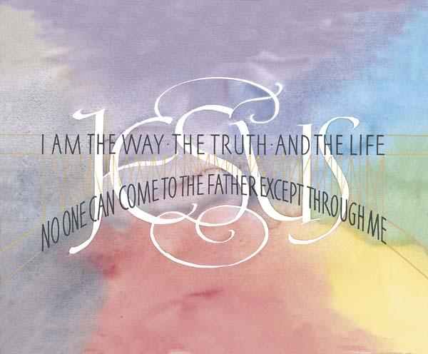 I Am Free Wallpaper John 14:6 Bible Quote ...