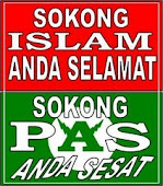 SOKONG PAS ANDA SESAT,SOKONG ISLAM ANDA SELAMAT