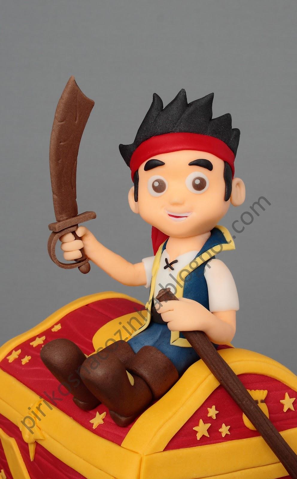 Pirikos Cake Design: Jake (os Piratas da Terra do Nunca)