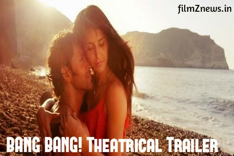 BANG BANG! (2014) Official Theatrical Trailer - Hrithik Roshan & Katrina Kaif