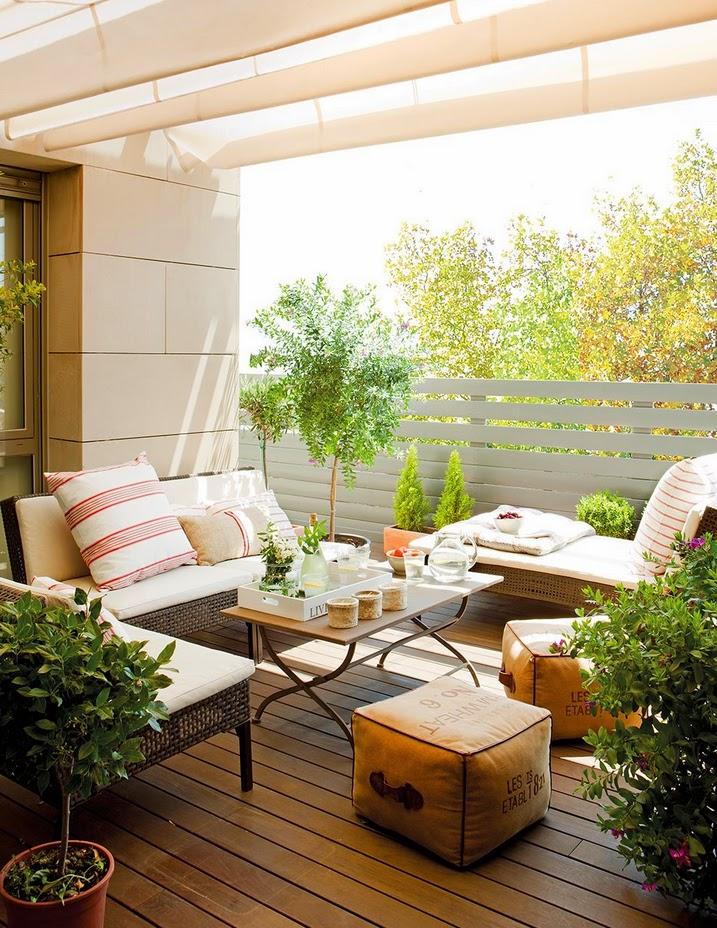 Stebbing house desing un piso ideal - Decoracion terrazas interiores ...